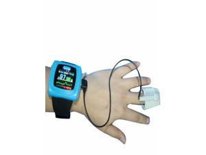 CMS50F Digital SPO2 Oxygen Monitor Wrist Pulse Oximeter + Color OLED Screen + Software Disk + USB Line + Data Storage + Watch Fuction