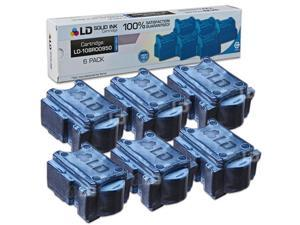 LD © Xerox ColorQube 8870 Compatible High Yield Cyan (6 Pack) 108R00950 / 108R950 Solid Ink ColorStix Cartridge
