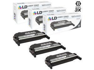 LD © Compatible Canon 117 / 2578B001AA Set of 3 Black Laser Toner Cartridges for ImageClass MF8450c