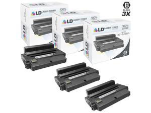 LD © Compatible Xerox 106R02311 / 106R2311 3PK Black Toner Cartridges for WorkCentre 3315dn, and 3325dni Printers
