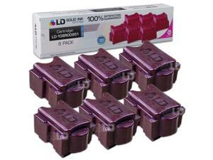 LD © Xerox ColorQube 8870 Compatible High Yield Magenta (6 Pack) 108R00951 / 108R951 Solid Ink ColorStix Cartridge