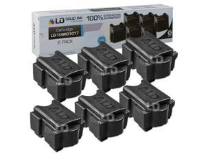 LD © Xerox ColorQube 8900 Compatible Black (6 Pack) 108R01017 Solid Ink Cartridges