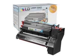 LD © Compatible High Yield Cyan Laser Toner Cartridge for Lexmark 10B042C