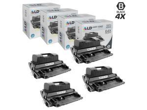 LD © Compatible Replacement Laser Toner Cartridges for HP CC364X (HP 64X) High-Yield Black (4 Pack) for use in the LaserJet ...