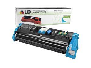 LD © Remanufactured Replacement Laser Toner Cartridge for Hewlett Packard C9701A (HP 121A) Cyan