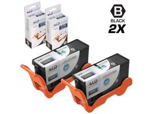 LD © Compatible Lexmark 100XL / 100 14N1068 Set of 2 High Yield Black Inkjet Cartridges