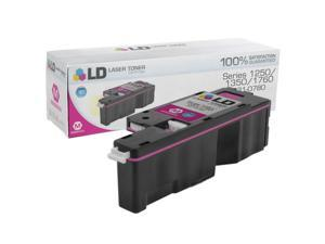 LD © Compatible Toner to replace Dell 5GDTC / 331-0780 High Yield Magenta Toner Cartridge for use in the Color Laser C1760nw, ...
