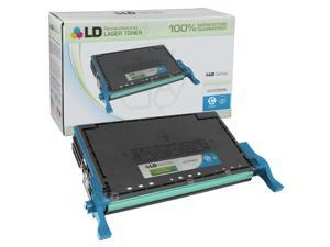 LD © Remanufactured Replacement for Samsung CLT-C508L High Yield Cyan Laser Toner Cartridge for use in Samsung CLP-620ND, ...
