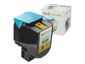 LD © Remanufactured High Yield Yellow Laser Toner Cartridge for Lexmark C540H2YG