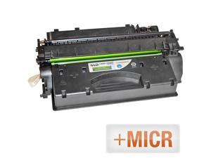 LD © (MICR Toner) Remanufactured Replacement Laser Toner Cartridge for Hewlett Packard CE505X (HP 05X) High-Yield Black