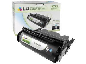 LD © Remanufactured High Yield Black Laser Toner Cartridge for Lexmark 12A5845