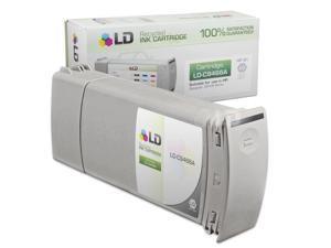 LD © Remanufactured Replacement Ink Cartridge for Hewlett Packard C9466A (HP 91) Light Gray