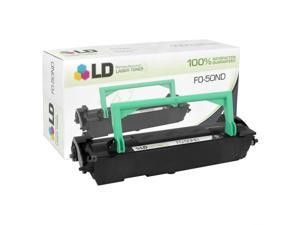 LD © Compatible Replacement for Sharp FO-50ND Black Laser Toner Cartridge for use in Sharp FO 4400, 4470, DC500, DC525, DC535, ...