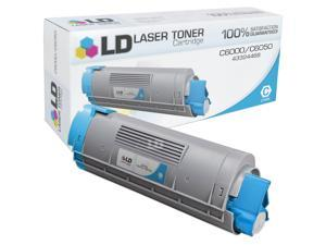 LD © Okidata C6000/C6050 Series Compatible 43324468 Cyan Laser Toner Cartridge