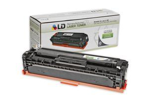 LD © Remanufactured Replacement Laser Toner Cartridge for Hewlett Packard CE320A (HP 128A) Black for use in the Color LaserJet ...