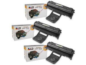 LD © Compatible Toners for  Samsung ML-2010D3 Set of 3 Black Laser Toner Cartridges for use in the ML-2010, ML-2510, ML-2570 ...