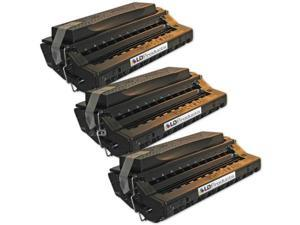 LD© Samsung Remanufactured Replacement SF-6800D6 Set of 3 Black Laser Toner Cartridges for use in Samsung MSYS 730, MSYS ...