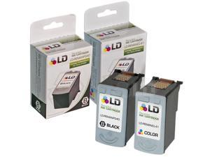 LD © Remanufactured Canon PG-40 and CL-41 Set of 2 Ink Cartridges: Includes 1 Black and 1 Color Cartridge