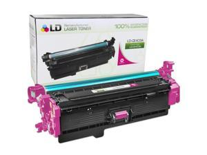 LD © Remanufactured Replacement for HP CE403A / 507A Magenta for the LaserJet 5500hdn, 5550dn, M551dn, 500 Color M551n, M551xh, ...