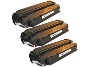 LD Set of 3 Remanufactured Black Laser Toner Cartridge for Canon 8489A001AA (X25) for the: MF5770, MF5530, MF3112, MF5650, ...