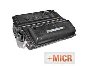 LD © (MICR Toner) Remanufactured Replacement Laser Toner Cartridge for Hewlett Packard Q5942X (HP 42X) High-Yield Black