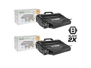 LD © Remanufactured IBM 39V2969 Set of 2 High Yield Black Laser Toner Cartridges