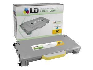 LD © Remanufactured High Yield Yellow Laser Toner Cartridge for Lexmark 20K1402