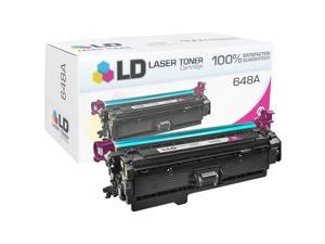 LD © Remanufactured Replacement Laser Toner Cartridge for Hewlett Packard CE263A (HP 648A) Magenta for the HP Color LaserJet ...