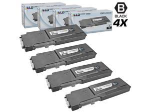 LD © Compatible Xerox Phaser 6600 Set of 4 High Capacity 106R02228 Laser Toner Cartridges for use in the Phaser 6600, 6600dn, ...