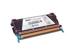 LD © Remanufactured C5240CH High Yield Cyan Laser Toner Cartridge for Lexmark (C524 Series)