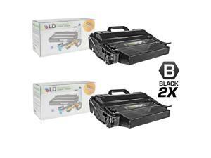 LD © Remanufactured IBM 39V2971 Set of 2 Extra High Yield Black Laser Toner Cartridges