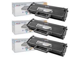 LD © Compatible Samsung MLT-D101S Set of 3 Black Laser Toner Cartridges
