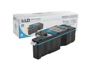 LD © Compatible Toner to replace Dell FYFKF / 331-0777 High Yield Cyan Toner Cartridge for use in the Color Laser C1760nw, ...