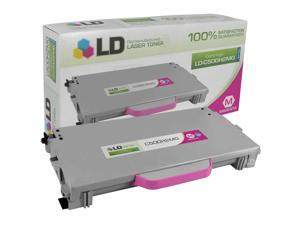 LD © Remanufactured Replacement for Lexmark C5000H2MG Magenta Laser Toner Cartridge for use in Lexmark C500n, X500n, and ...