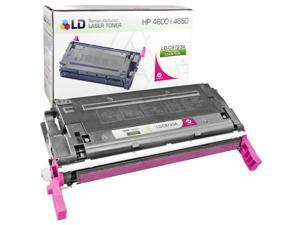 LD © Remanufactured Replacement Laser Toner Cartridge for Hewlett Packard C9723A (HP 641A) Magenta
