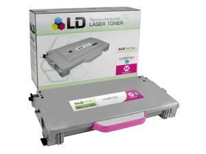 LD © Remanufactured High Yield Magenta Laser Toner Cartridge for Lexmark 20K1401