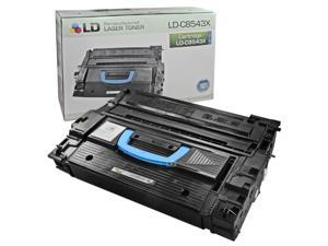 LD © Remanufactured Replacement Laser Toner Cartridge for Hewlett Packard C8543X (HP 43X) Black