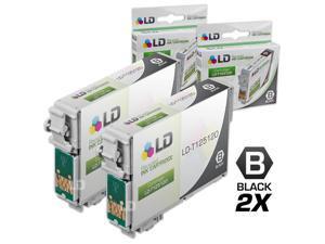 LD © Remanufactured Epson T125120 Set of 2 Black Ink Cartridges