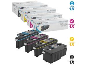 LD © 4 Color High Yield Toner Cartridges For 1250 / 1350