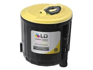 LD © Compatible Replacement CLP-Y300A Yellow Laser Toner Cartridge for use in Samsung CLP-300, CLP-300N, CLX-2160, & CLX-3160 ...