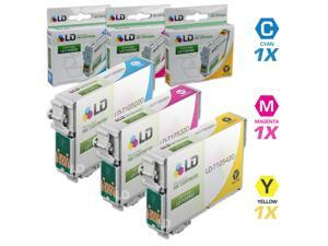LD © Epson Remanufactured T125 Set of 3 Standard Yield Ink Cartridges: 1 Cyan (T1252), Magenta (T1253), Yellow (T1254)