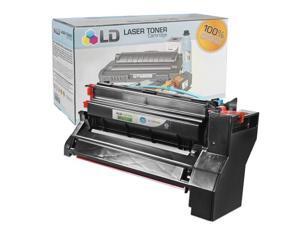 LD © Compatible High Yield Black Laser Toner Cartridge for Lexmark 10B042K