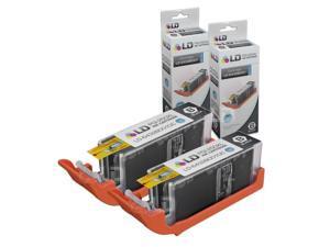 LD Compatible Canon PGI-250XL / PGI-250 / 6432B001 Set of 2 High Yield Pigment Black Inkjet Cartridges for PIXMA MX922,  ...