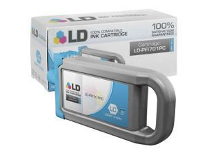 LD © Compatible Replacement for Canon PFI-701PC HY Photo Cyan Pigment Inkjet Cartridge for use in Canon imagePROGRAF iPF8000, ...