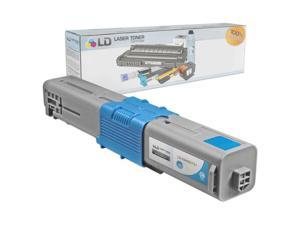 LD © Compatible Okidata Type C17 / 44469721 High Yield Cyan Laser Toner Cartridge