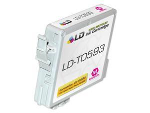 LD © Remanufactured Replacement for Epson T059320 (T0593) Magenta Pigment Based Ink Cartridges for the Stylus Photo R2400