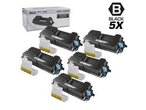 LD © Set of 5 Compatible Kyocera-Mita Black TK-3112 / 1T02MT0US0 Laser Toner Cartridges for use in FS-4100DN Printers