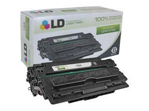 LD © Remanufactured Replacement for Hewlett Packard Q7516A (HP 16A) Black Laser Toner Cartridge for use in HP LaserJet 5200, ...