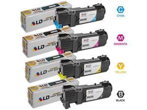 LD © 4 Compatible  Phaser 6140 Toners 1(Bk,C,M,Y)
