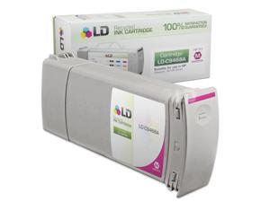 LD © Remanufactured Replacement Ink Cartridge for Hewlett Packard C9468A (HP 91) Magenta